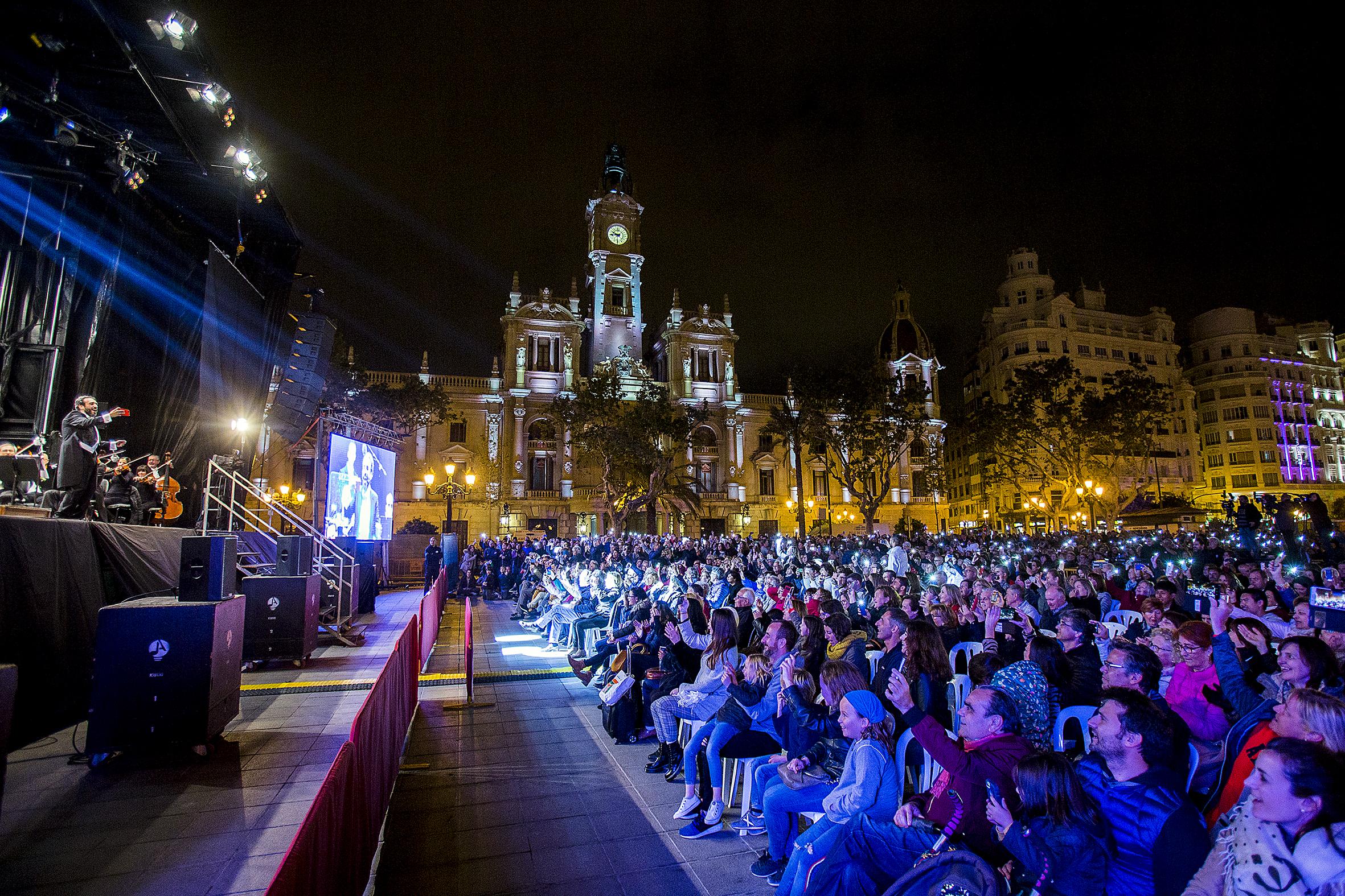 Orquesta de València y tenor José Manuel Zapata