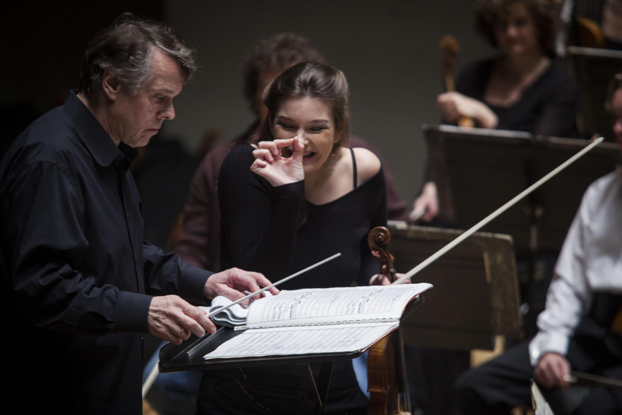 Marriss Jansons y Janine Jansen