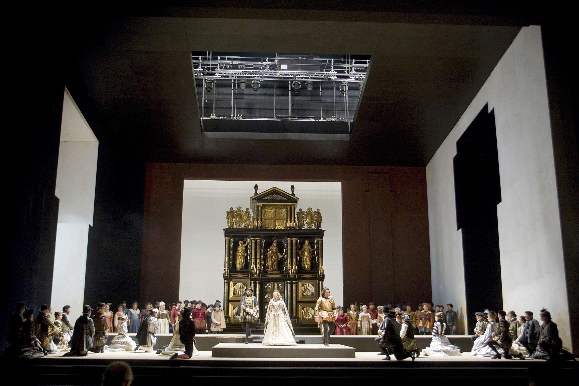 Exposición Don Carlo en contrucción por Eva Ripoll